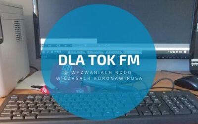 Dla TOK FM o wyzwaniach RODO w związku z koronawirusem