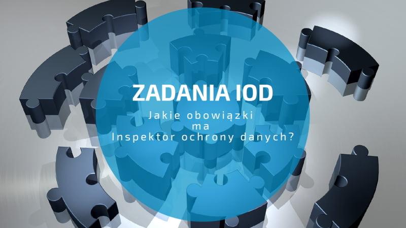 Obowiązki Inspektora ochrony danych