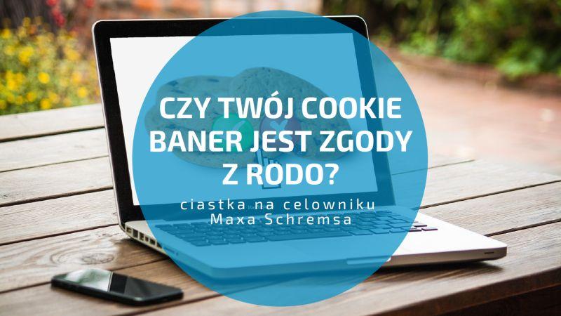 Czy Twój cookie baner jest zgody z RODO – ciastka na celowniku Maxa Schremsa